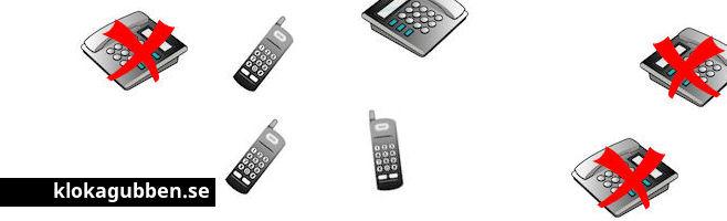 Tips om Nix telefon och om hur du ser vem som har ringt.